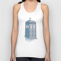 The Police Box Unisex Tank Top by Anthony Londer | Society6