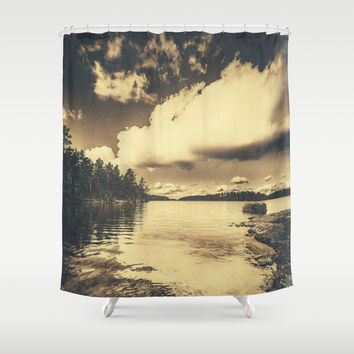 There where times Shower Curtain by HappyMelvin