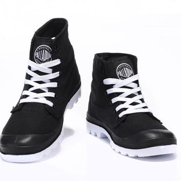 Palladium Pampa Hi Originale Tx High Boots Black White - Beauty Ticks