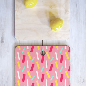 Allyson Johnson Confetti party Cutting Board Square