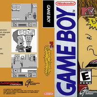 Beavis and Butt-Head - Game Boy (Game Only Ugly)