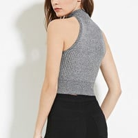 Marled Crop Top