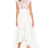 Bronx and Banco Boheme Gown in White