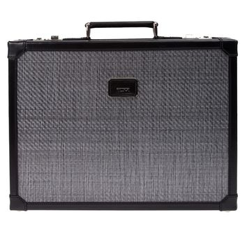 Tumi Contrast Trim Box Briefcase