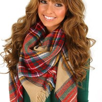 Wrapped Up In The Stars Blanket Scarf: Multi - What's New