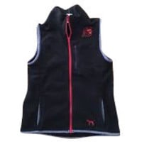 Victoria's Secret PINK Women's Full Zipper Fleece USC Vest