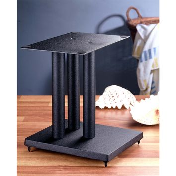"13"" Center Speaker Stand Black Cast Iron"