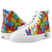Candy Zipz High Top Shoes, US Men 4 / US Women6