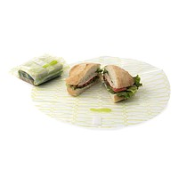 Food Kozy Wrap Large - Clear Lime (2-Pack)