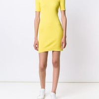 Courrèges Ribbed Knit Mini Dress - Hirshleifers - Farfetch.com