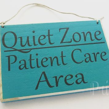 8x6 Quiet Zone Patient Care Area