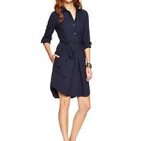 Poplin shirtdress | Gap