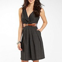 Polka Dot Sundress With Belt : sundresses : sundresses : jcpenney