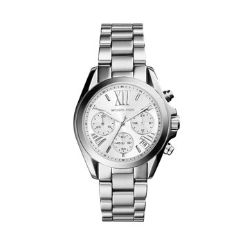 MICHAEL KORS WATCH  WOMEN JETSET MINI BRADSHAW STAINLESS STEEL MK6174