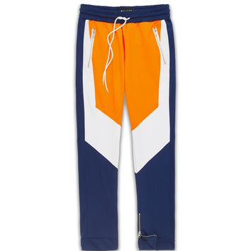 Motocross Track Joggers - Navy/Orange