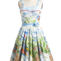 Koi to the World Dress | Mod Retro Vintage Dresses | ModCloth.com
