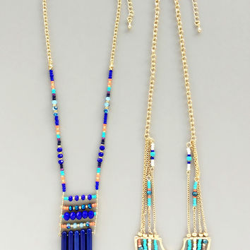 Gypsy Songs Necklace Set