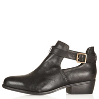 MONTI Cut Out Leather Boots - New In This Week - New In - Topshop USA