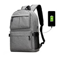 Oxford Canvas Laptop Backpacks