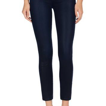 J Brand Jeans - 23127 Coated Alana Crop by J Brand
