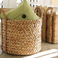 BEACHCOMBER EXTRA-LARGE ROUND BASKET