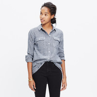Flannel Ex-Boyfriend Shirt in Gingham Check