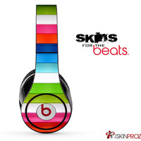 Horizontal Stripes Skin For The Beats by Dre Studio, Solo, Pro, Mix-R or Wireless
