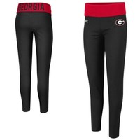 Georgia Bulldogs Ladies Pivot II Leggings - Black