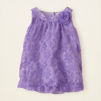 baby girl - dresses & rompers - flower bubble dress | Children's Clothing | Kids Clothes | The Children's Place