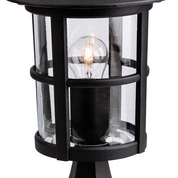 Firstlight 2357BK Stratford IP44 Outdoor Pillar Lantern