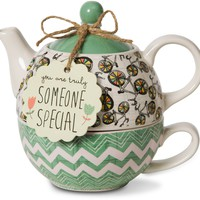You are truly someone special Teapot Set