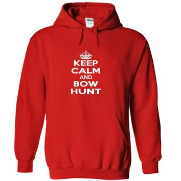 Keep calm and bow hunt