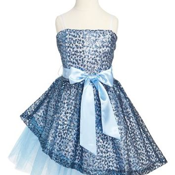 Un Deux Trois Sequin Dress (Big Girls)
