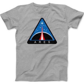 NASA Ares 1 and V Mission Patch T-Shirt