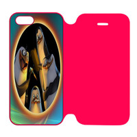 Penguins of Madagascar Say Hello iPhone 5 | 5S Flip Case Cover