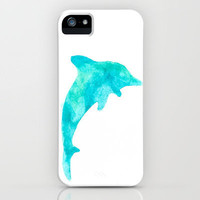 Exotic Dolphin iPhone Case by Ems Orlien | Society6