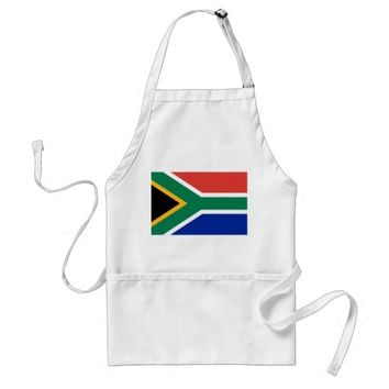 Apron with Flag of South Africa