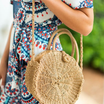 Summer Sun Purse, Tan