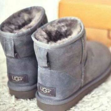UGG Winter Women Trending Wool Warm Snow Boots Shoes I