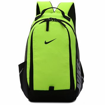 NIKE 2018 new men and women travel sports backpack computer bag F0522-1 Green
