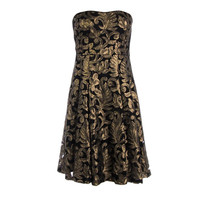Nanette Lepore Womens Sequined Lined Cocktail Dress