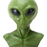 Alien Little Green Man Big Eyes Extraterrestrial Bust Small 4H