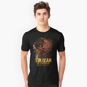"""League of Legends TALIYAH - The Stoneweaver"" Unisex T-Shirt by Naumovski 
