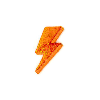 Lightning Bolt Mini Sticker Patch
