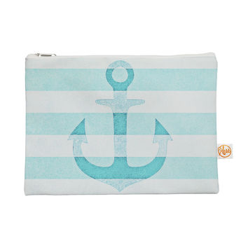 "Monika Strigel ""Stone Vintage Aqua Anchor"" Everything Bag"
