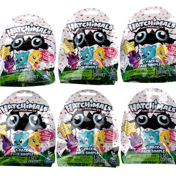 Spin Master Hatchimals Colleggtibles Lot 10 Packs Season 1 Collect 70+