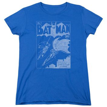 Batman - Issue 1 Cover Short Sleeve Women's Tee