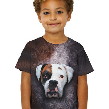 Kids Boxer Dog Face