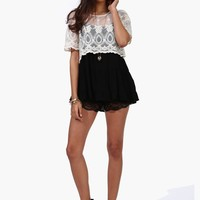 Lace Chase Top