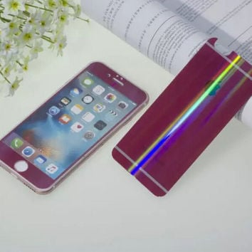 Laser iPhone 6s 6plus Toughened Glass Screen Protector Gift